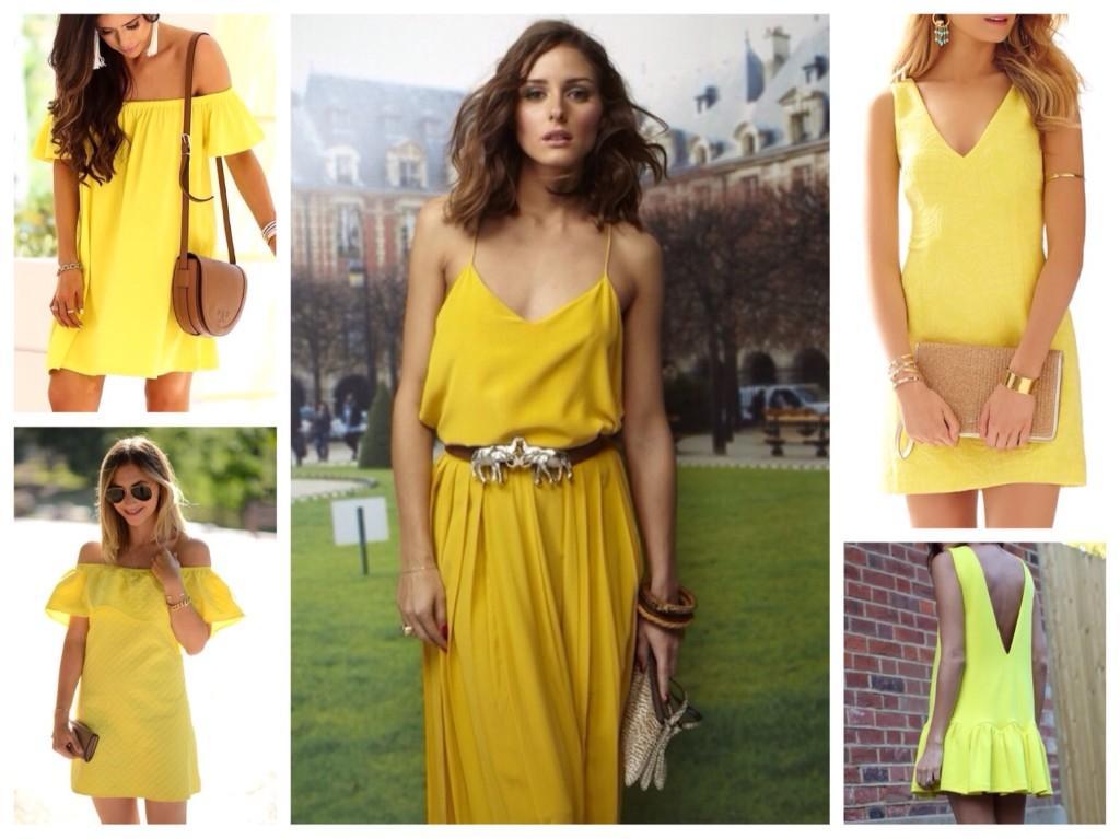летние модели платьев