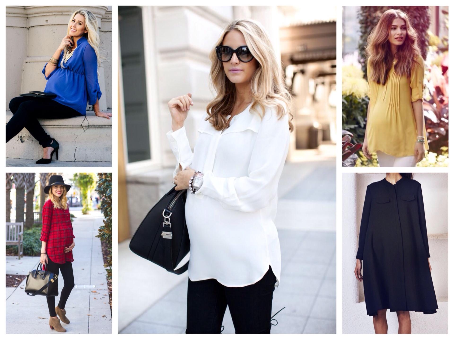 e3fa821a295 блузки и рубашки для беременных. Самая практичная одежда — туника.
