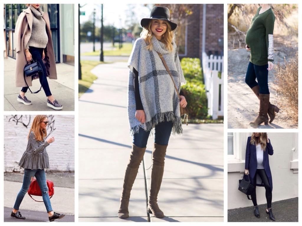 модная одежда для беременных осень весна
