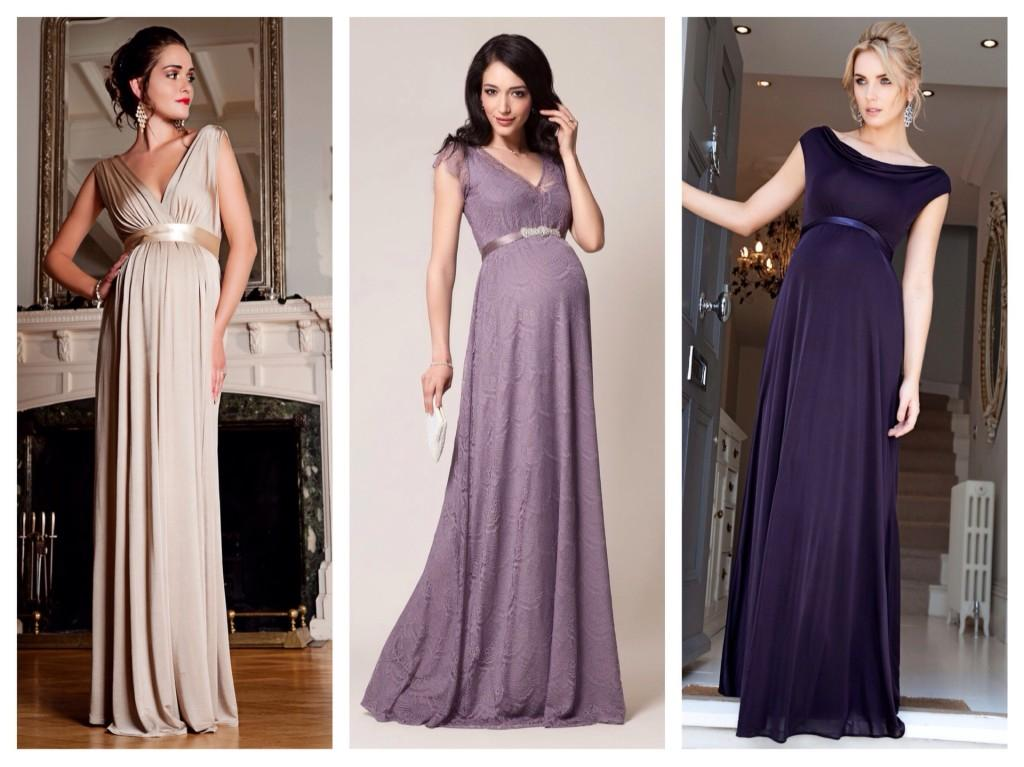 Какой фасон платья подойдет для беременных