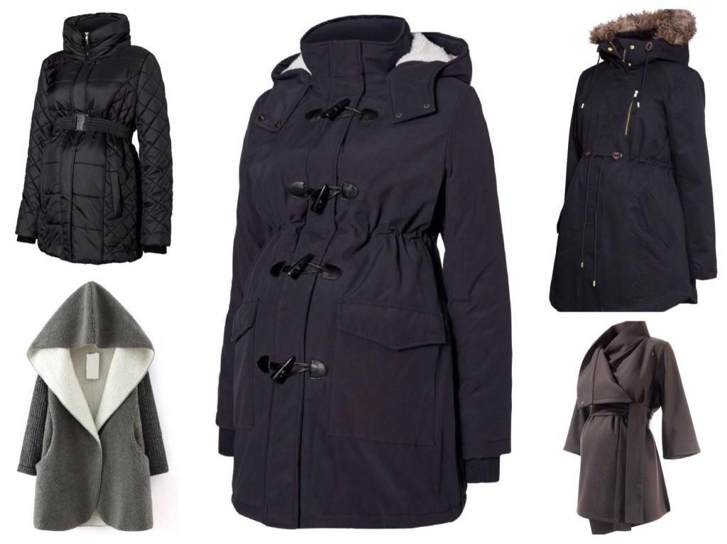 куртки и пальто для беременных осень зима