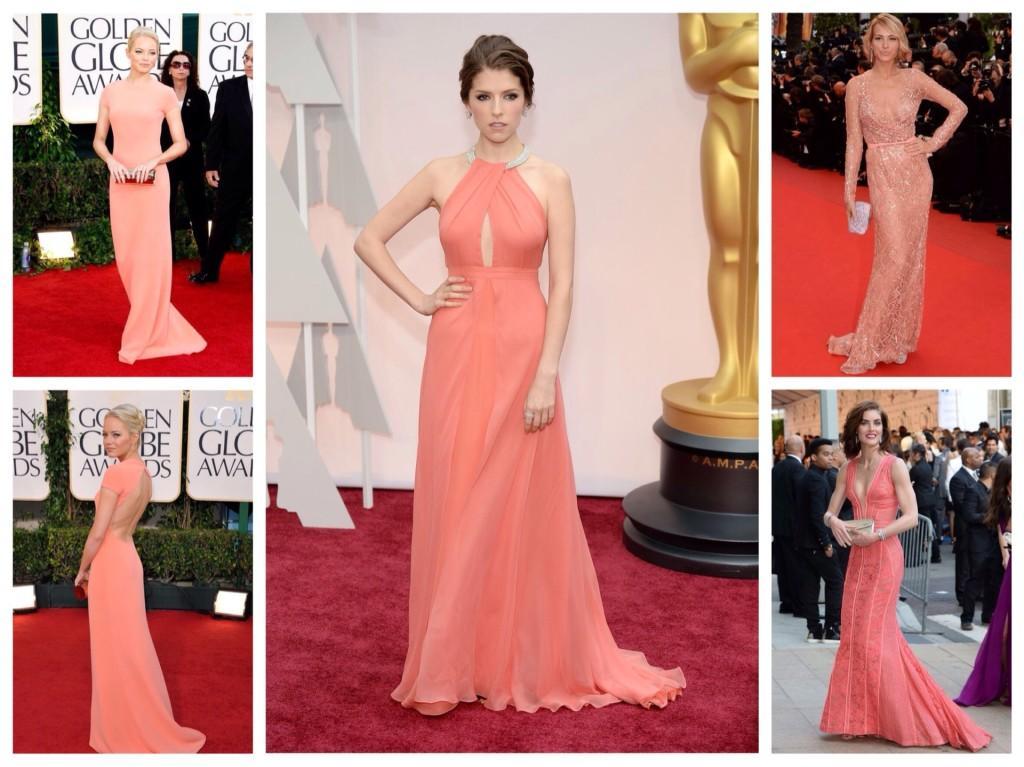 платья с красной ковровой дорожки
