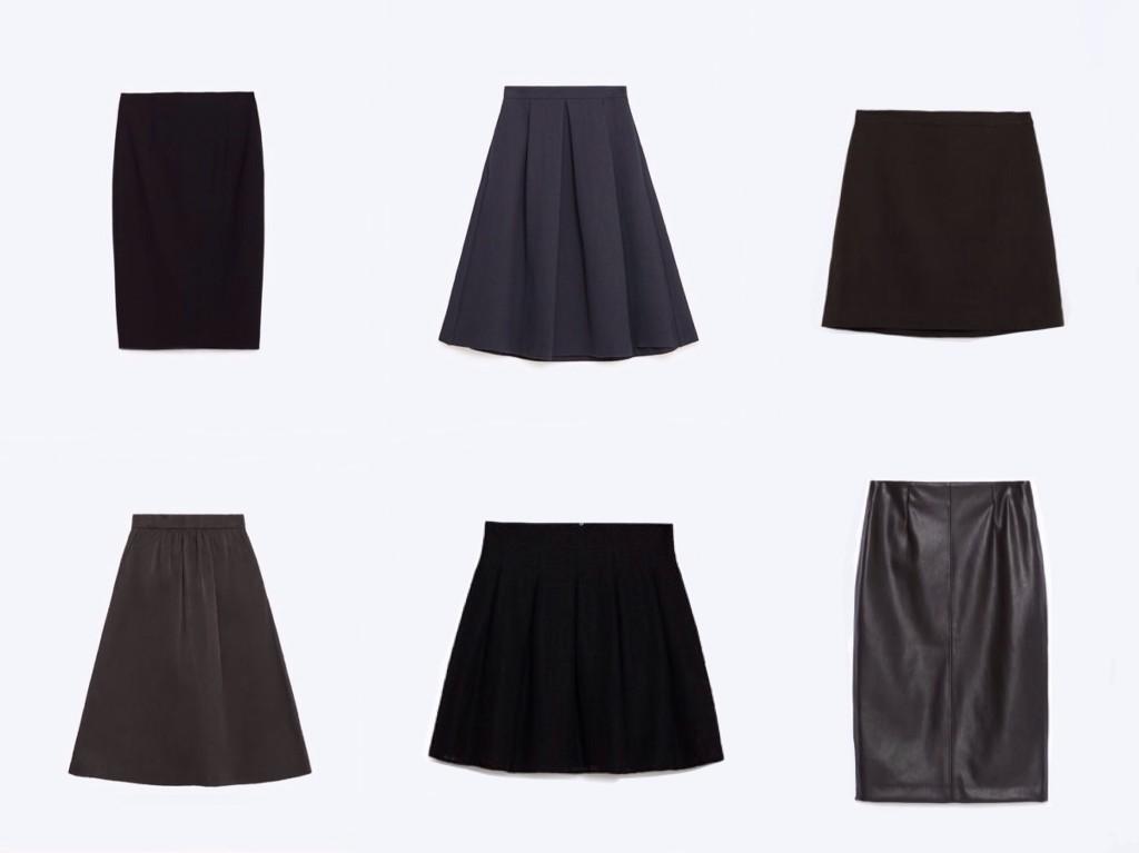 юбка в базовом гардеробе