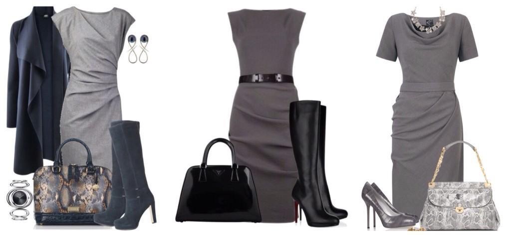 обувь и сумочки к платью