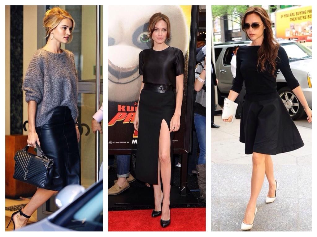 звезды в черных юбках