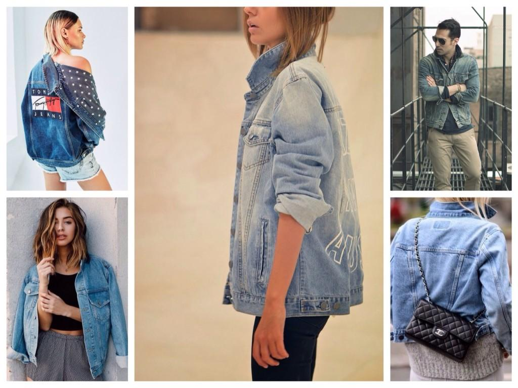 варианты с джинсовой курткой