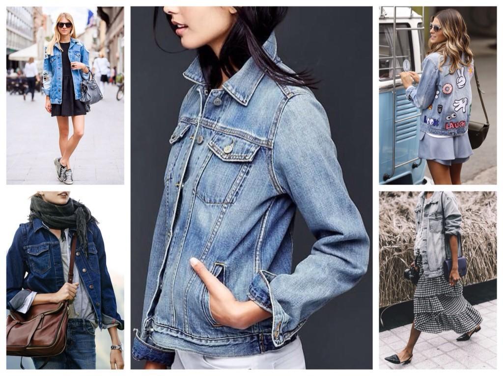 комплекты с джинсовой курткой