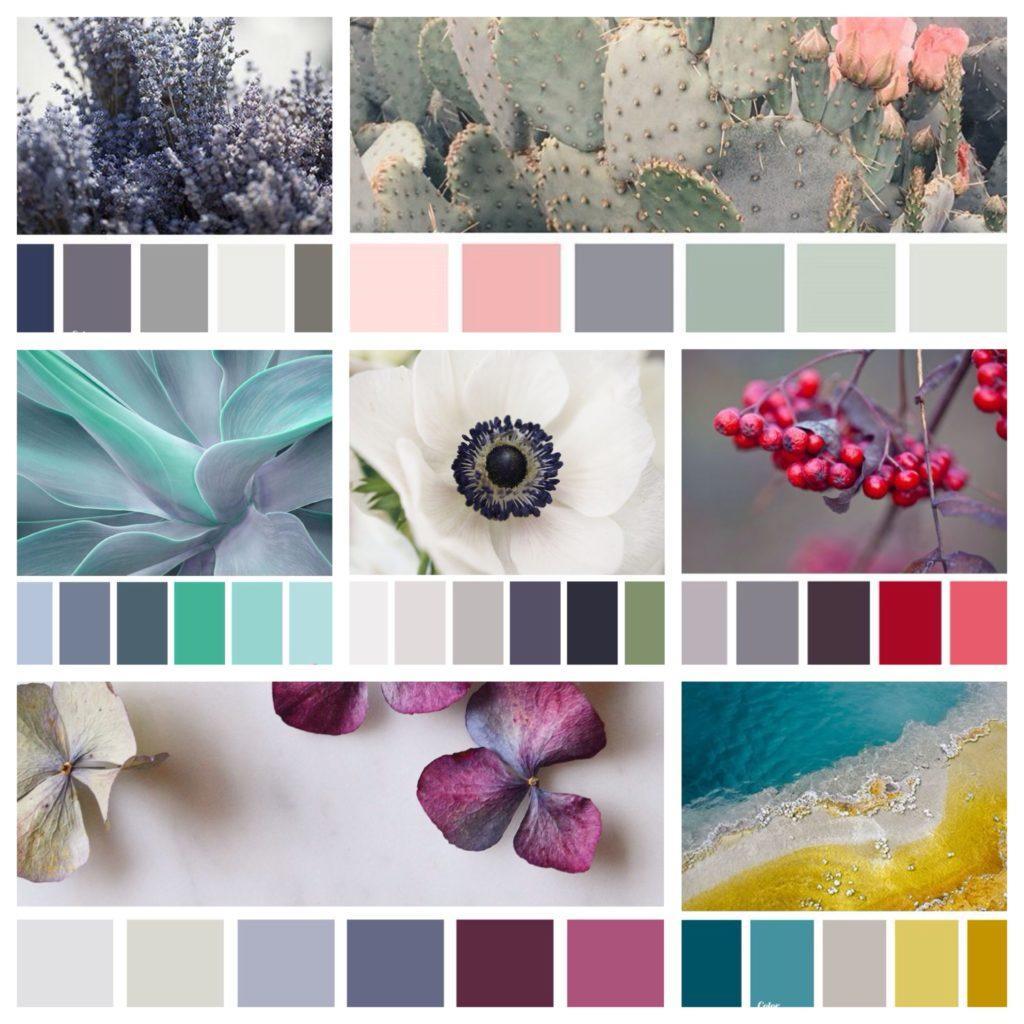 Серый цвет сочетание с другими цветами фото