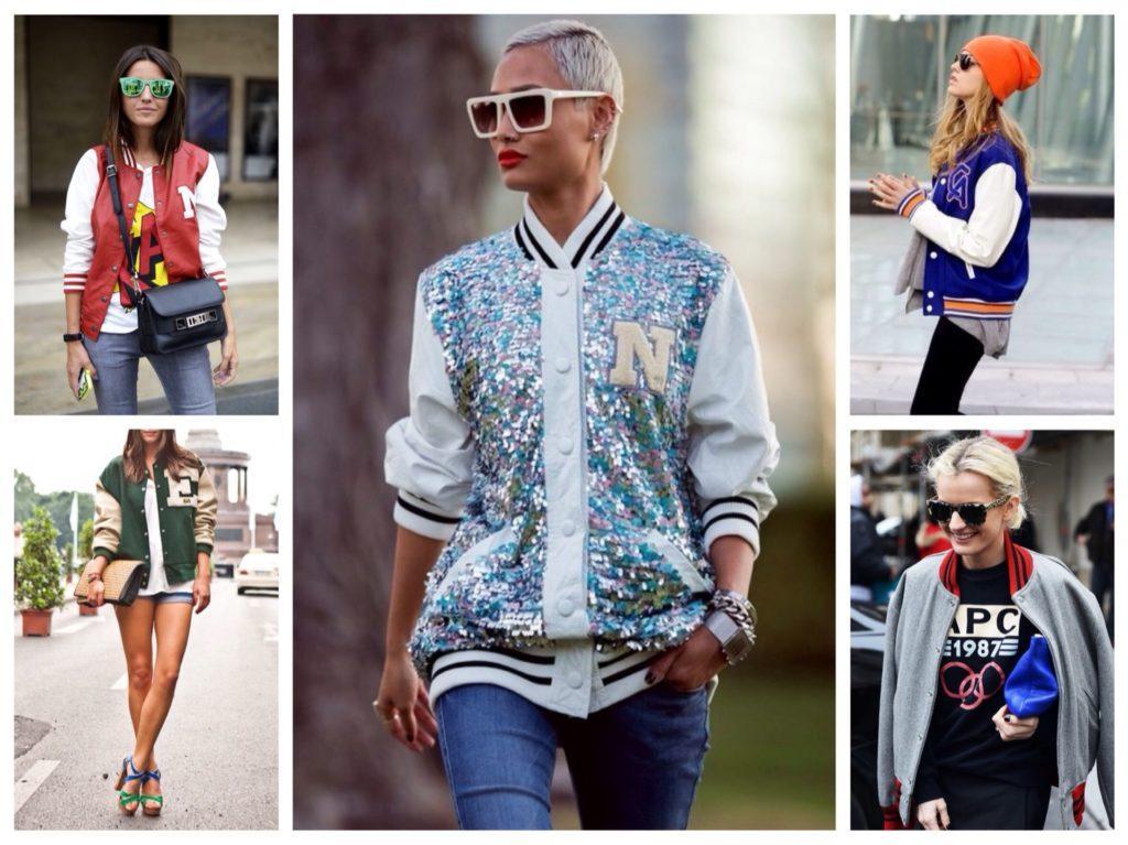 короткие куртки в спортивном стиле