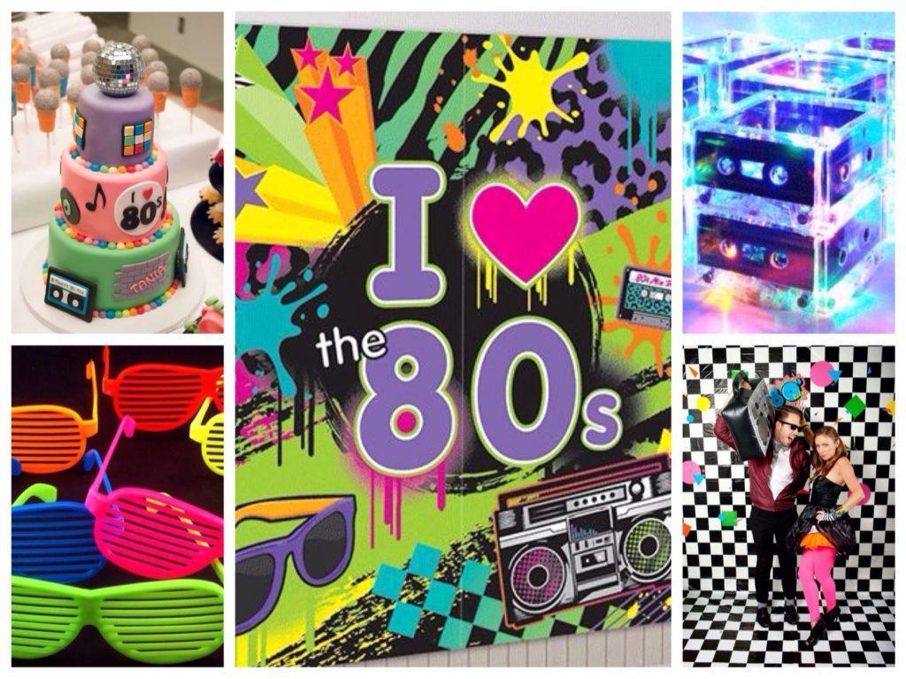 для вечеринки в стиле 80х и диско