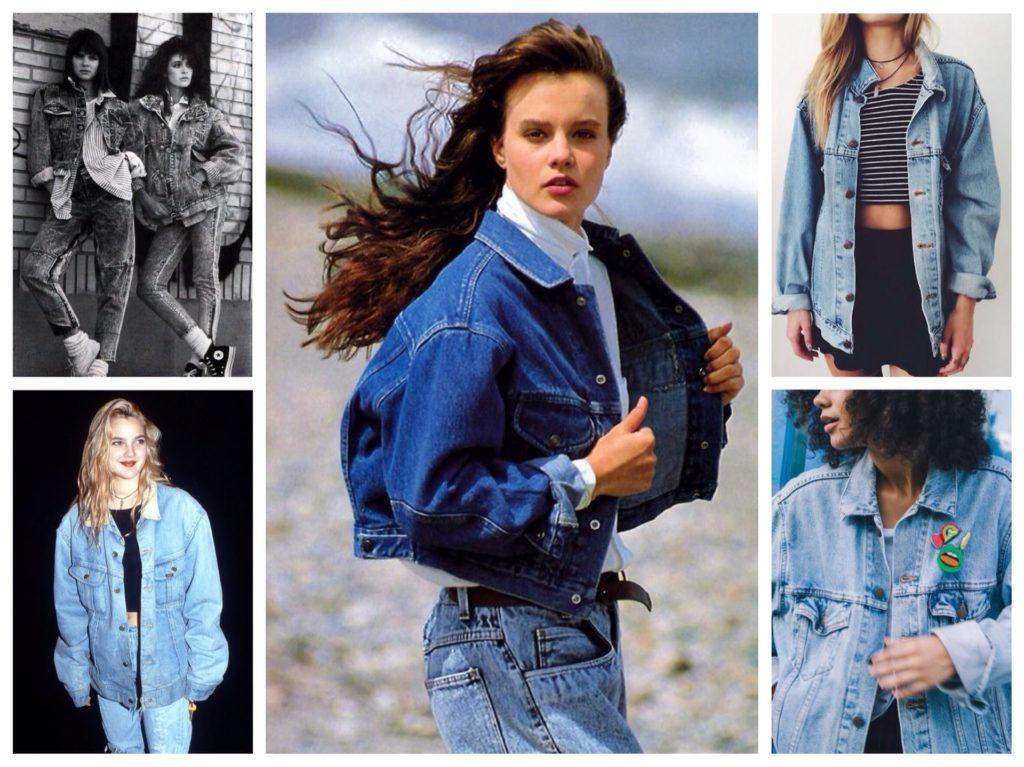 джинсовые куртки оверсайз
