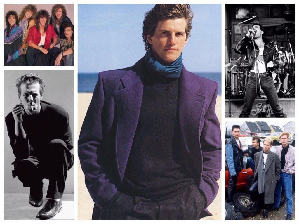 мужская мода 80х