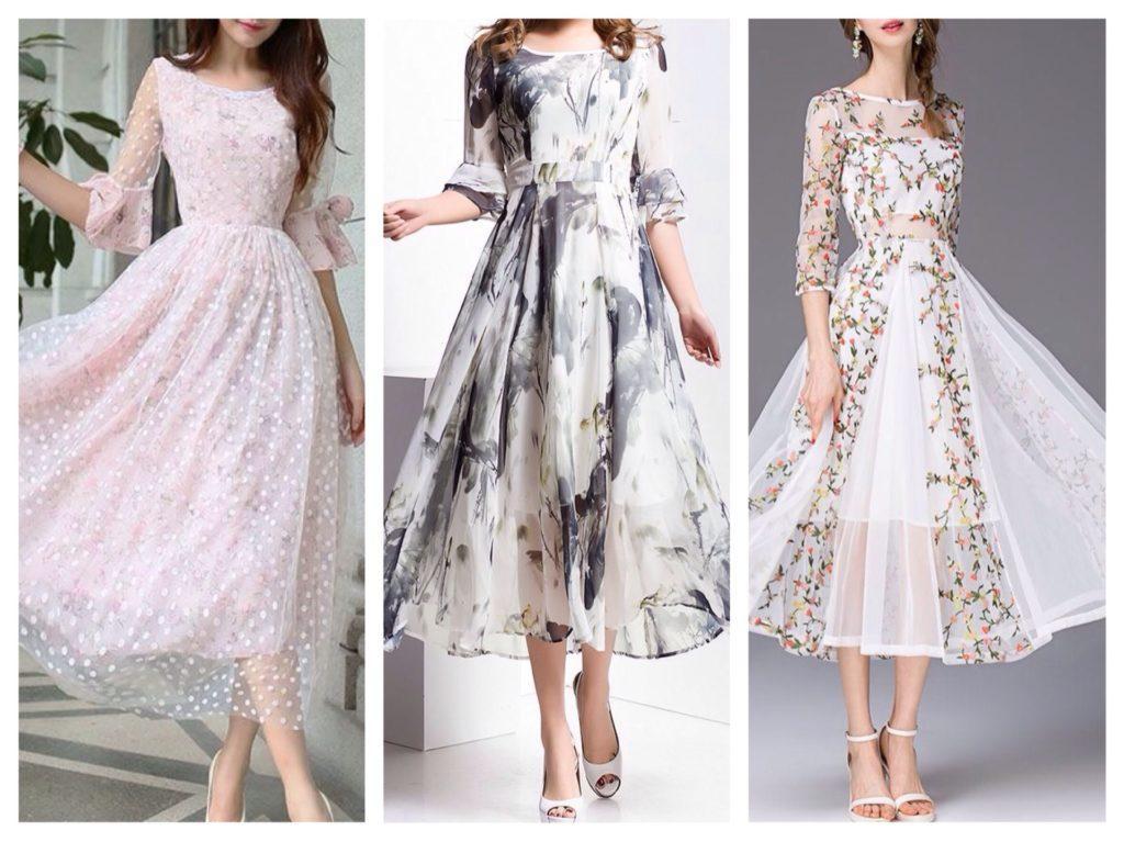 платья с рукавом для торжества