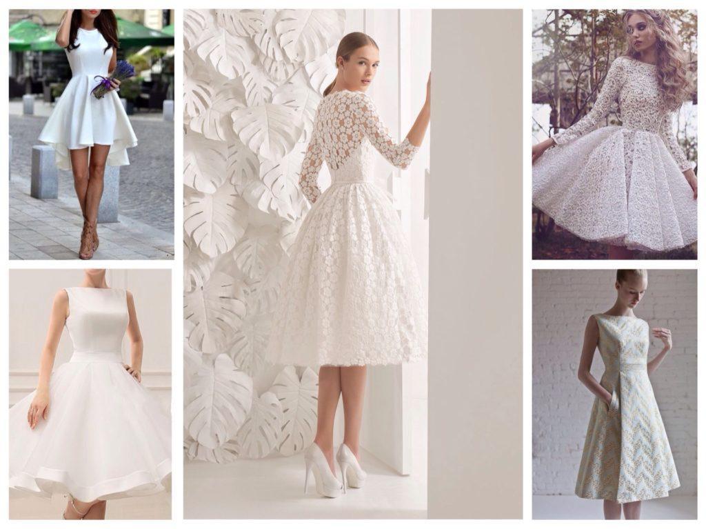 белые платья на выпускной
