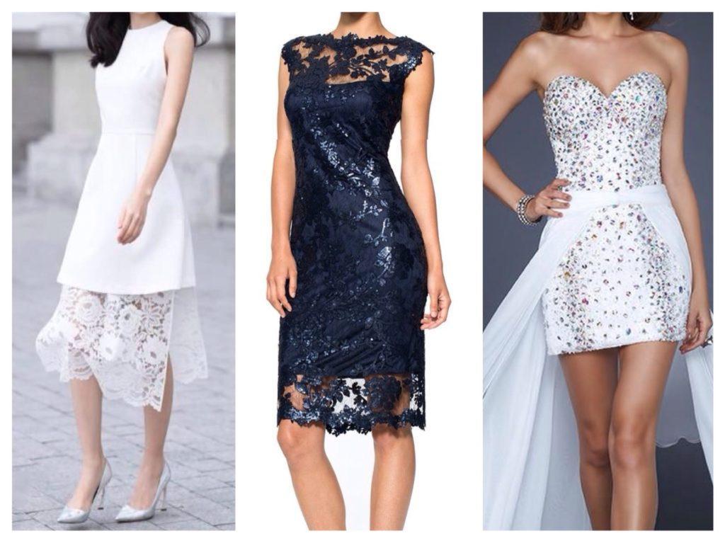 платья с дополнительными элементами