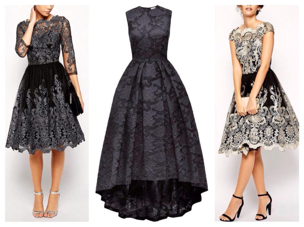 платья черного цвета