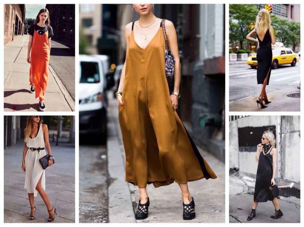 комплекты с платьем-комбинацией