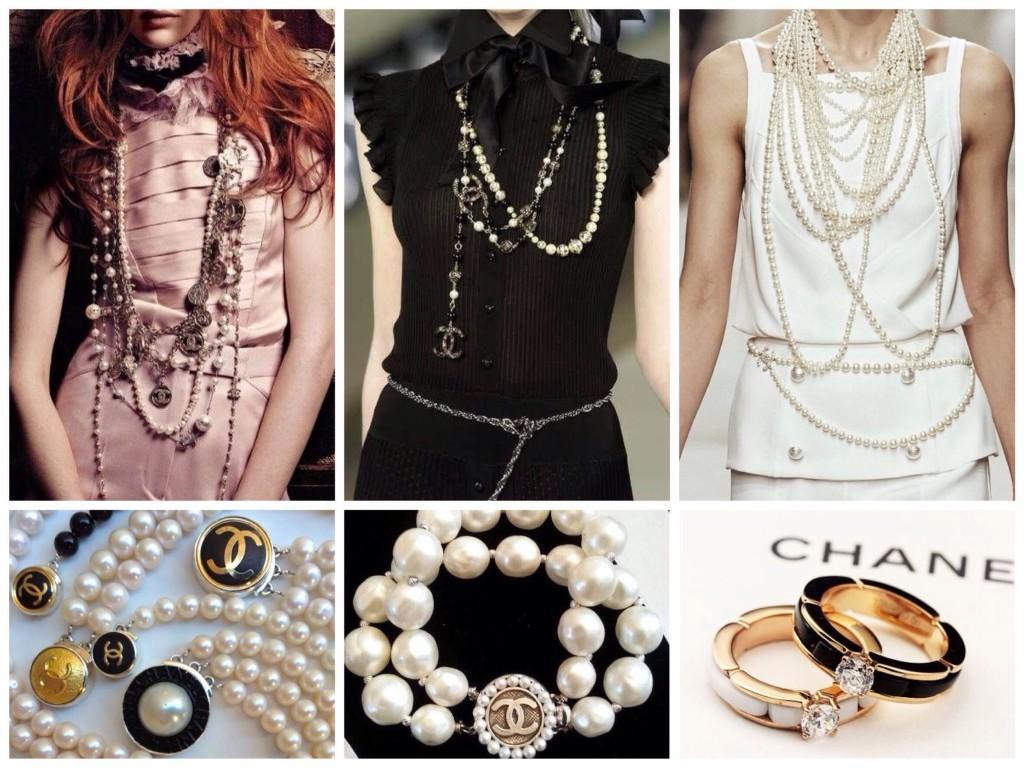 Блузки и украшения