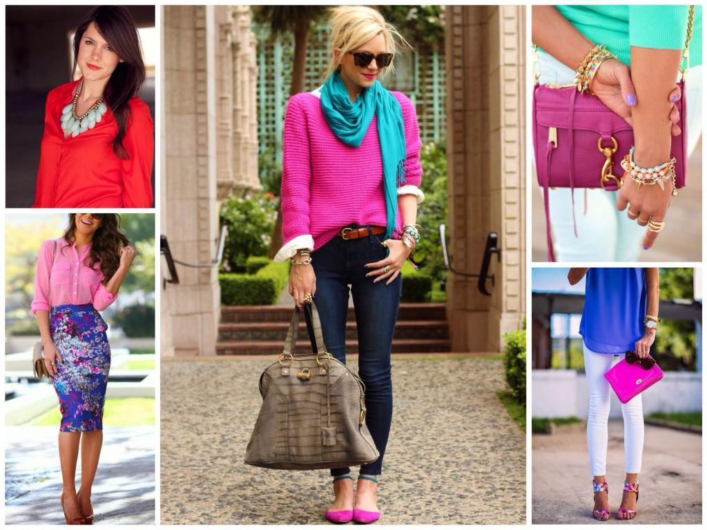 Луки одежды для подтипа яркая весна