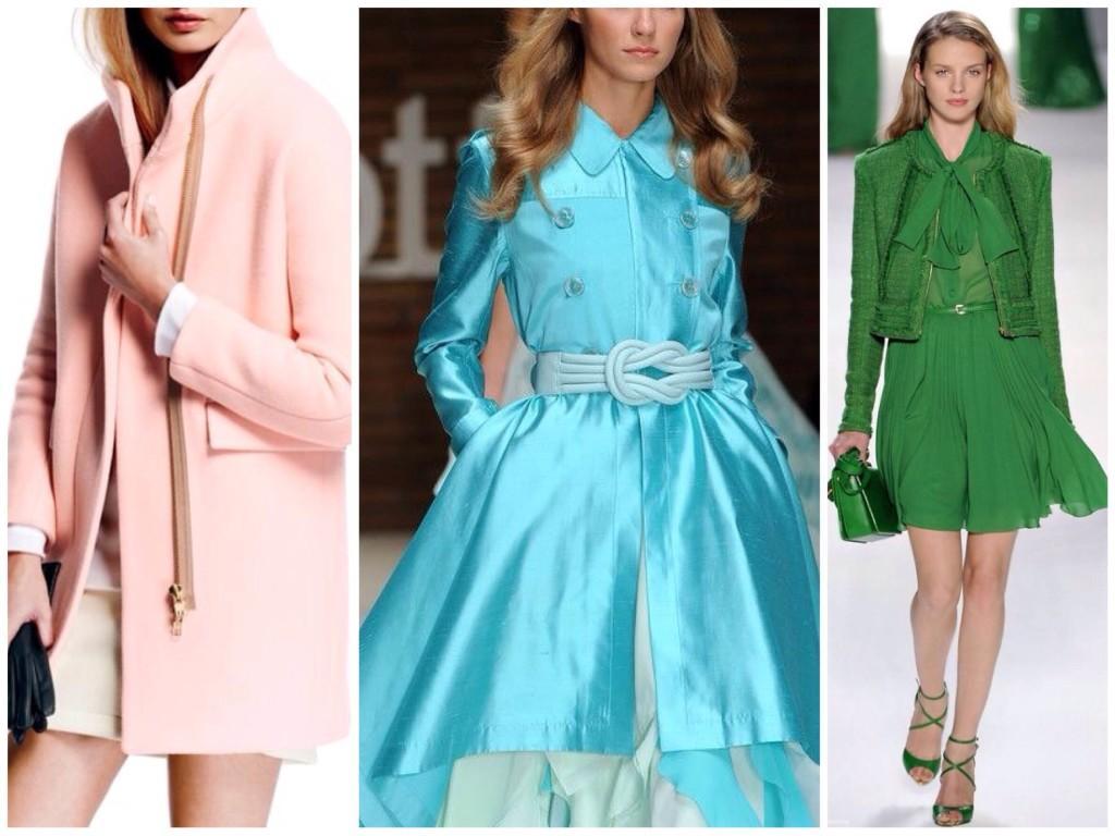 Выбор цвета в одежде для light spring