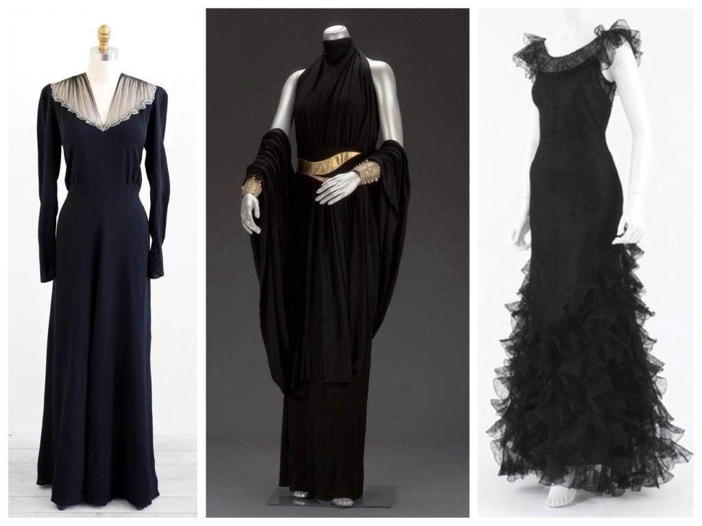 30е годы и маленькое черное платье