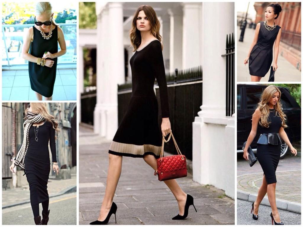 Аксессуары и Little Black Dress
