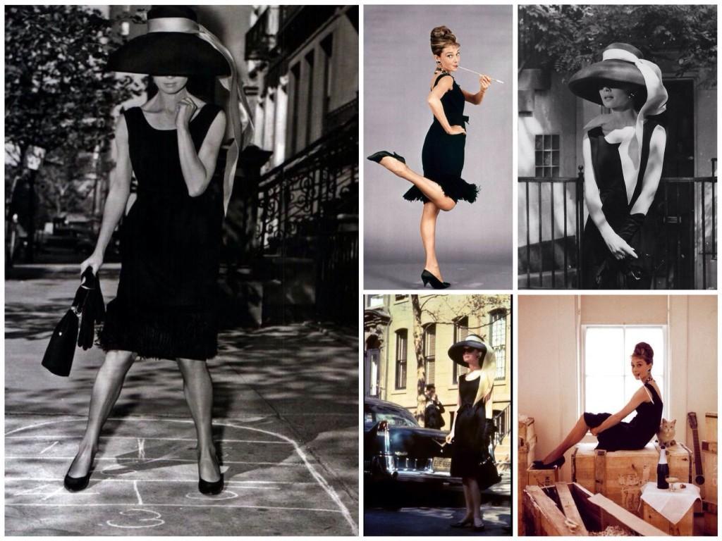 Черное платье Одри Хепберн