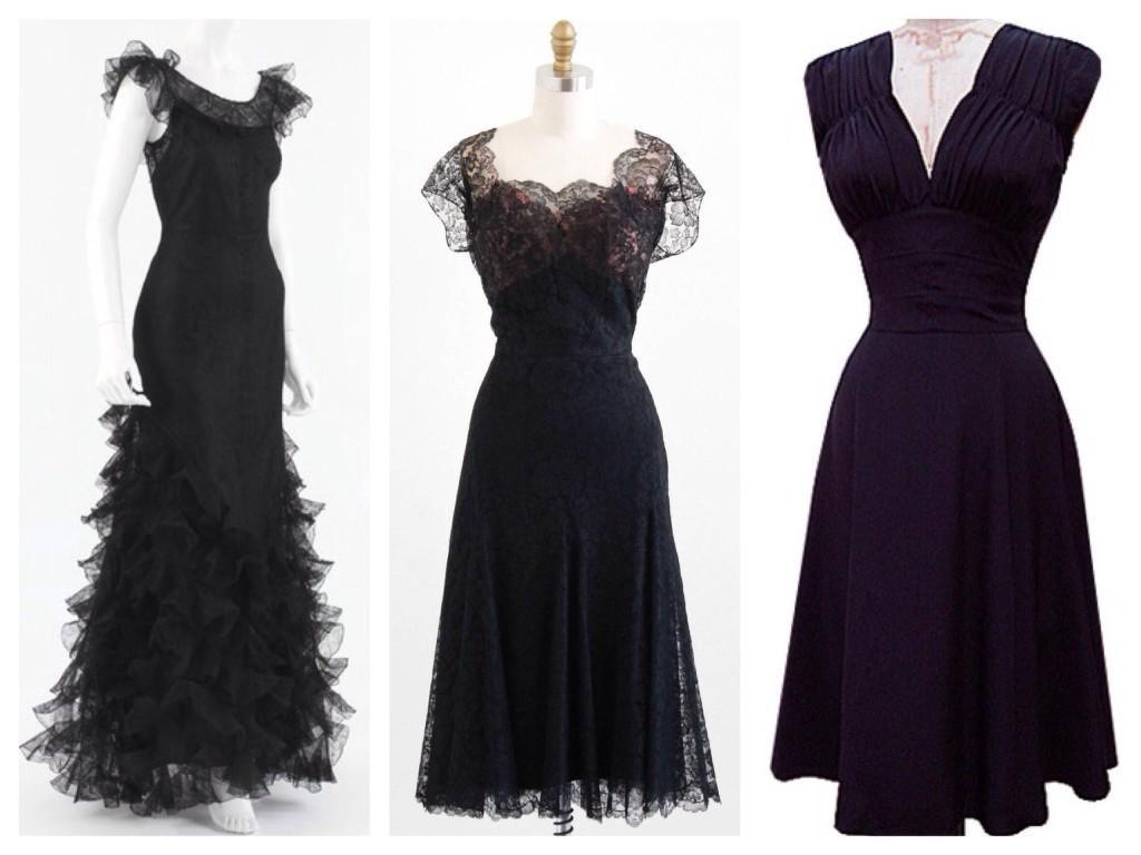 40е платье