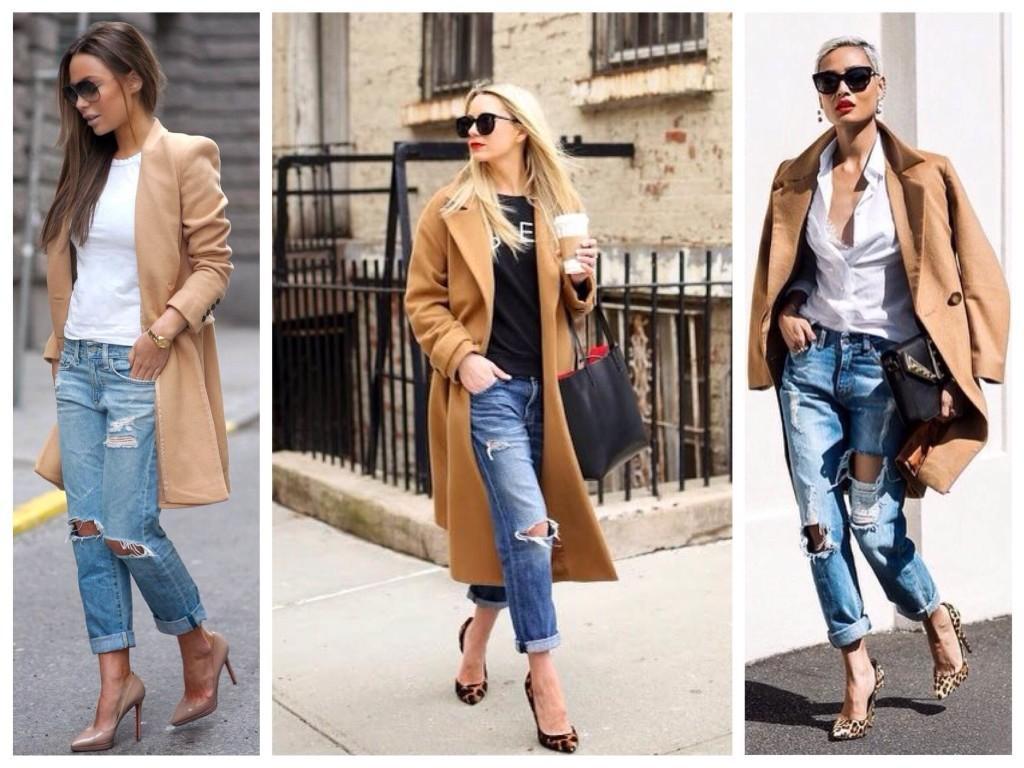 Пальто и Boyfriends jeans