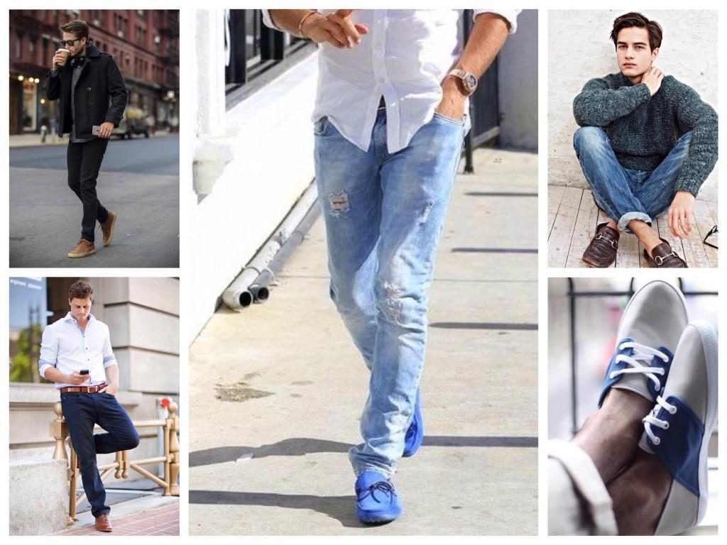 Обувь под мужские джинсы