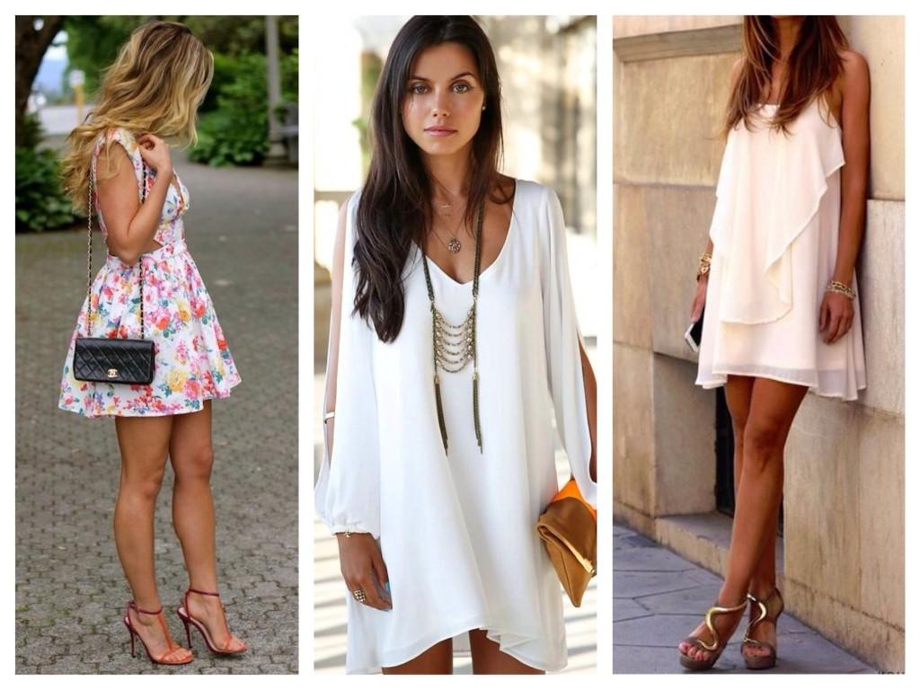 Платье и аксессуары для летнего вечера