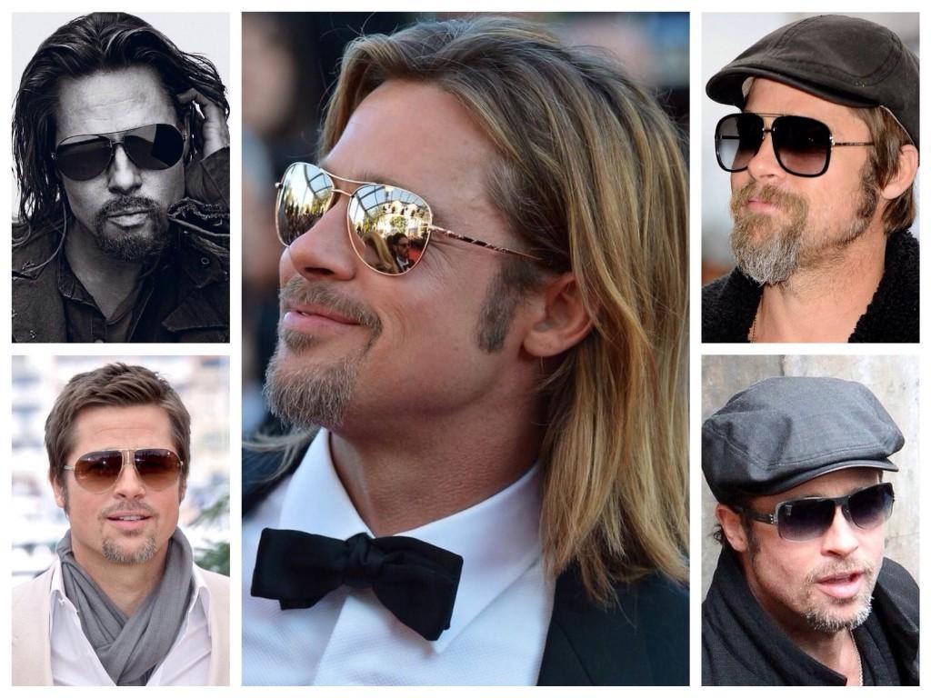 Солнцезащитные очки выбор Брэда Питта