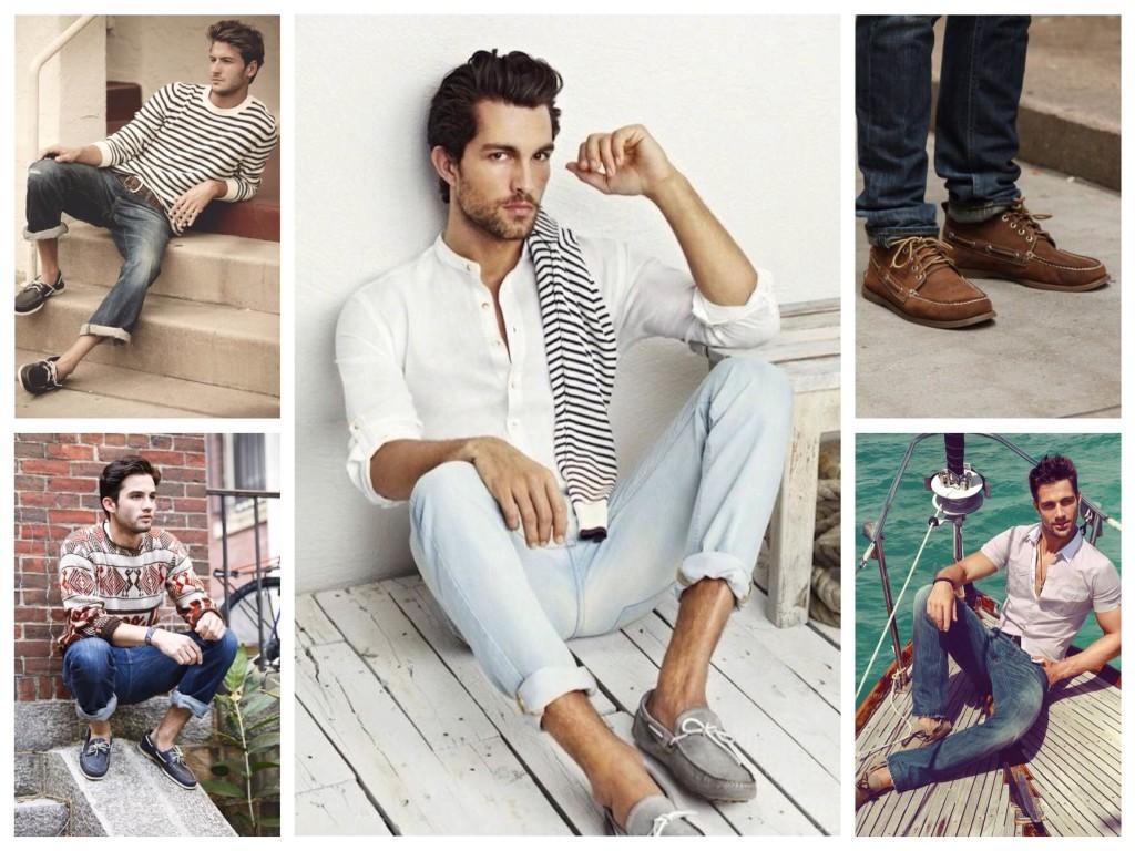 Топсайдеры и джинсы