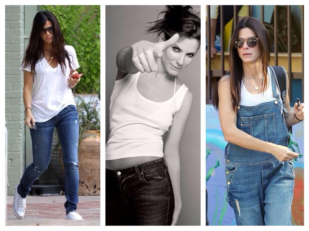 Уличные образы Sandra Bullock