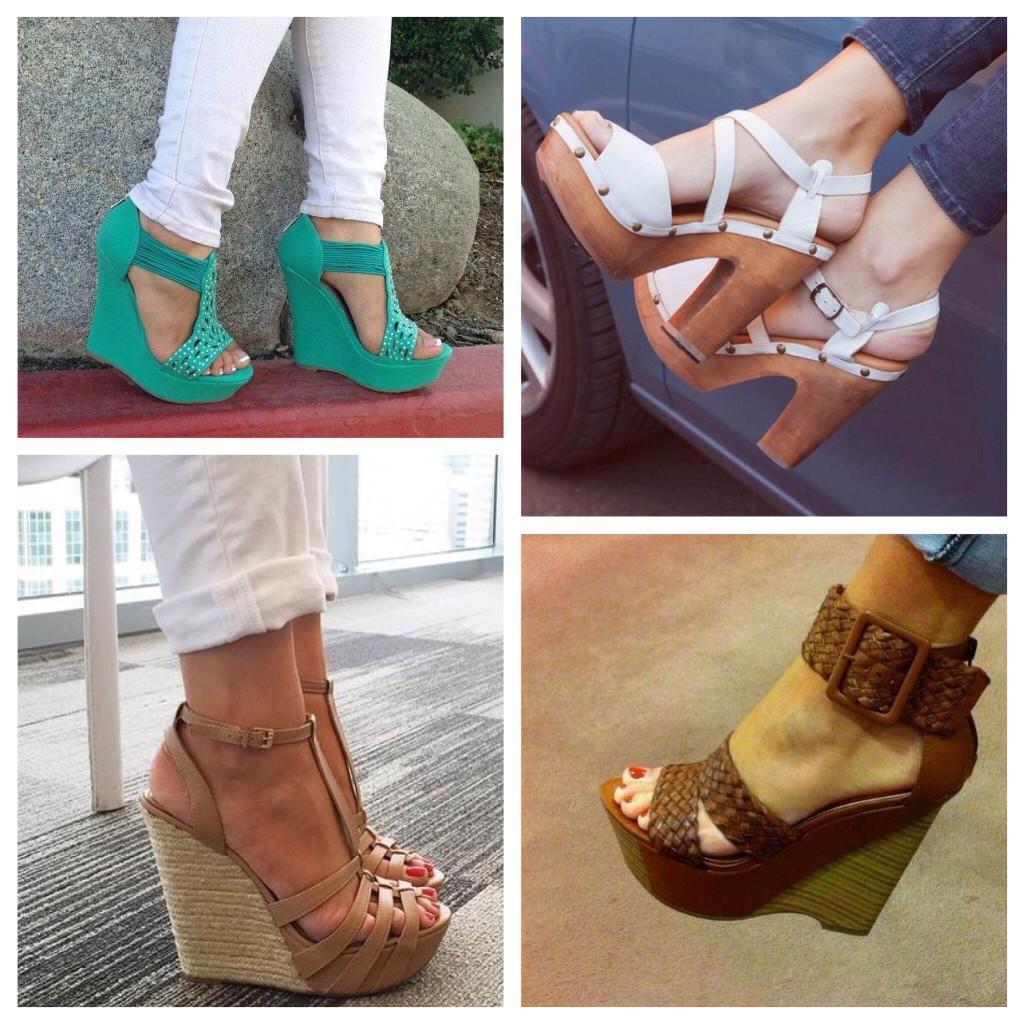 Узкие джинсы и открытая обувь