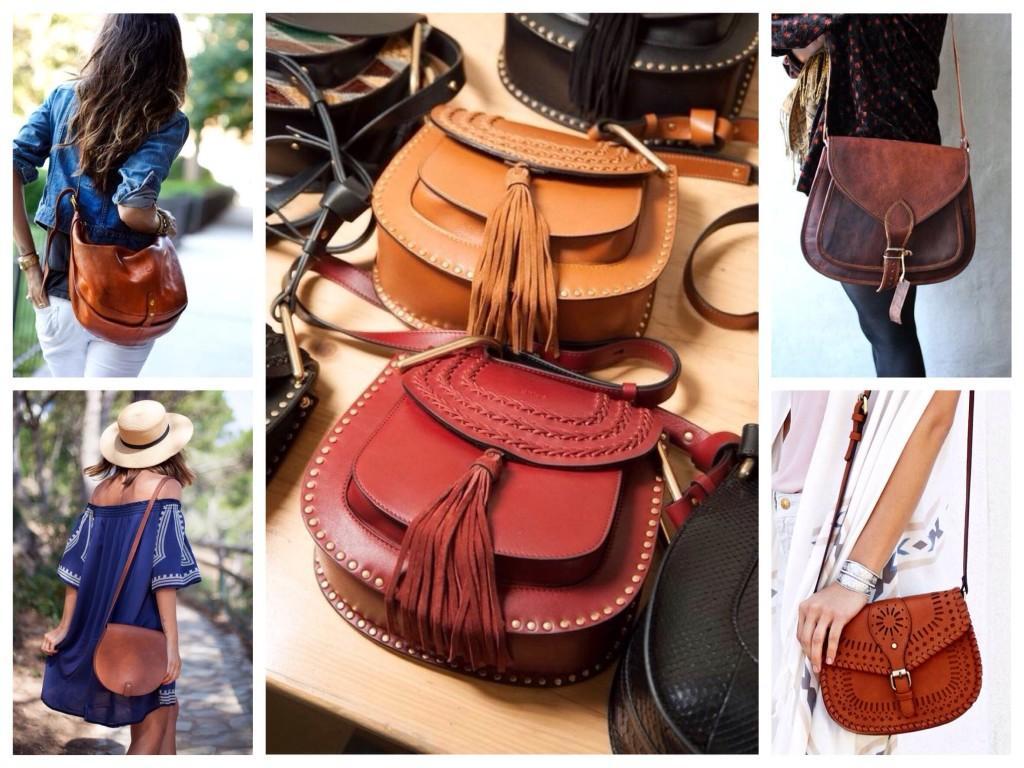 Форма сумок saddle седло