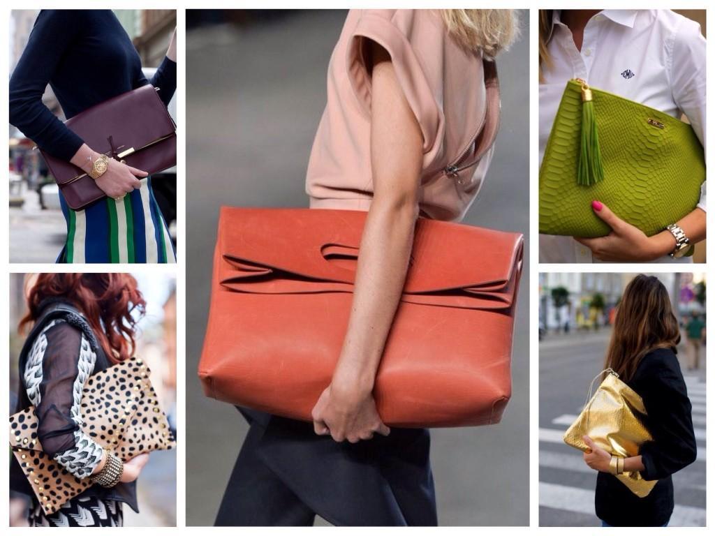 Поддерживая сумочку рукой