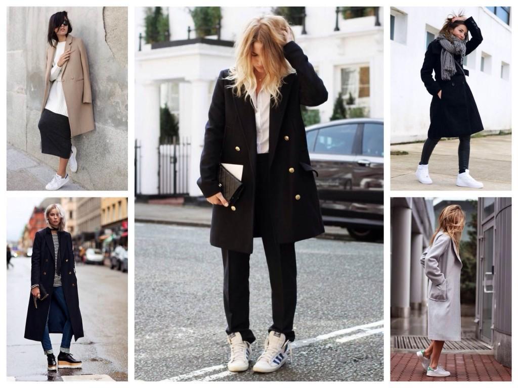 Городские образы с пальто