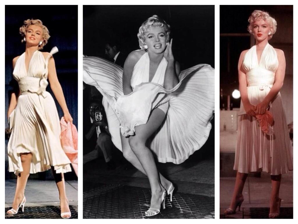 Легендарное платье и образ Мэрилин Монро из фильма Зуд седьмого года
