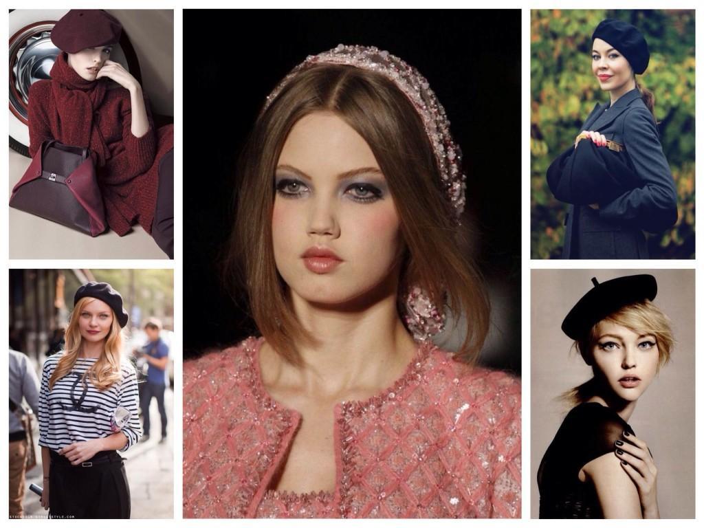 Многообразие моделей беретов для женщин
