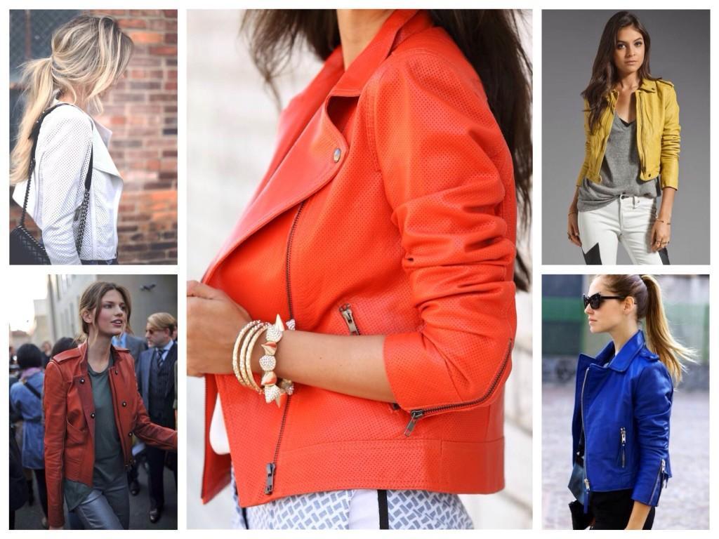 Многообразие моделей курток из кожи