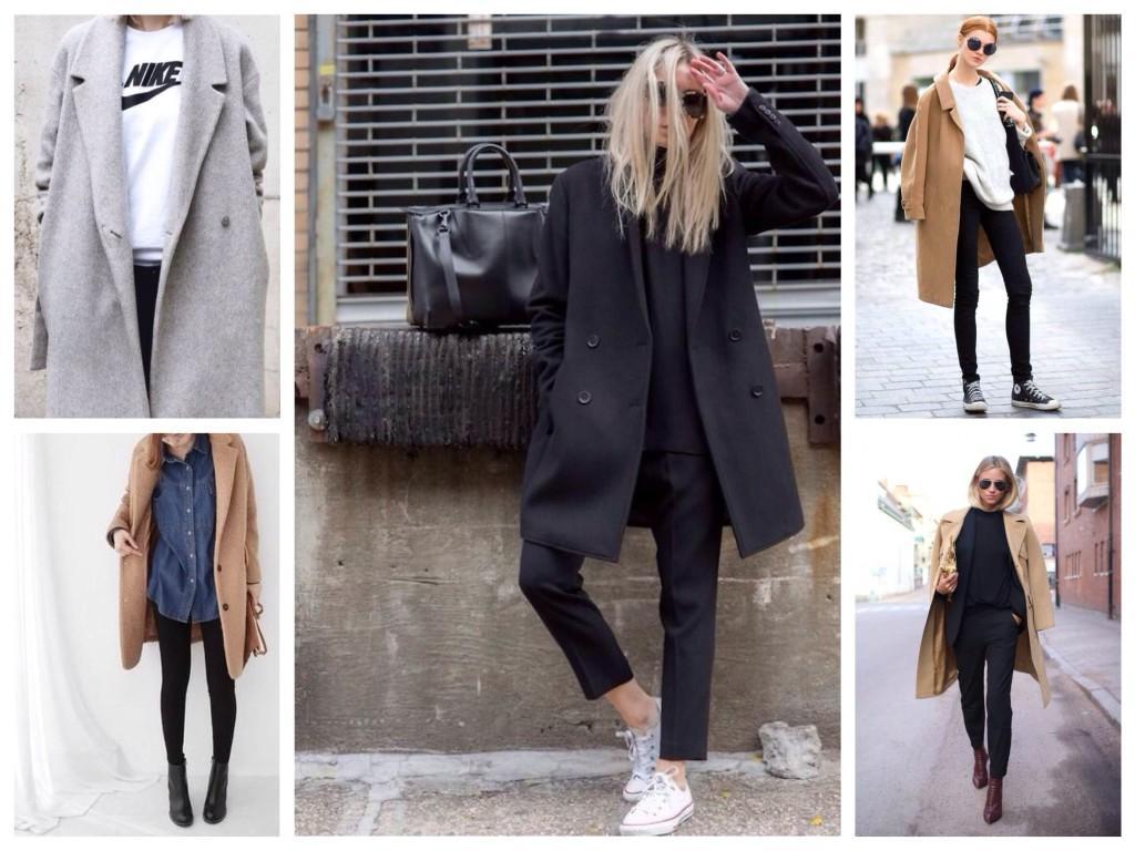 Модели базовых пальто