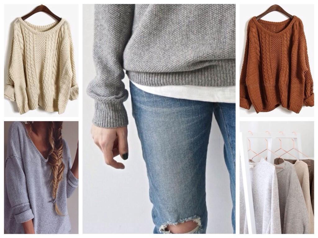 Модели базовых свитеров
