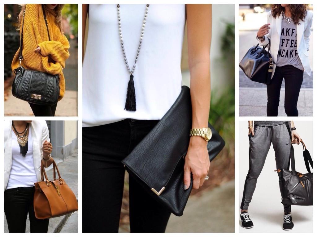 Модели сумок в базовый гардероб