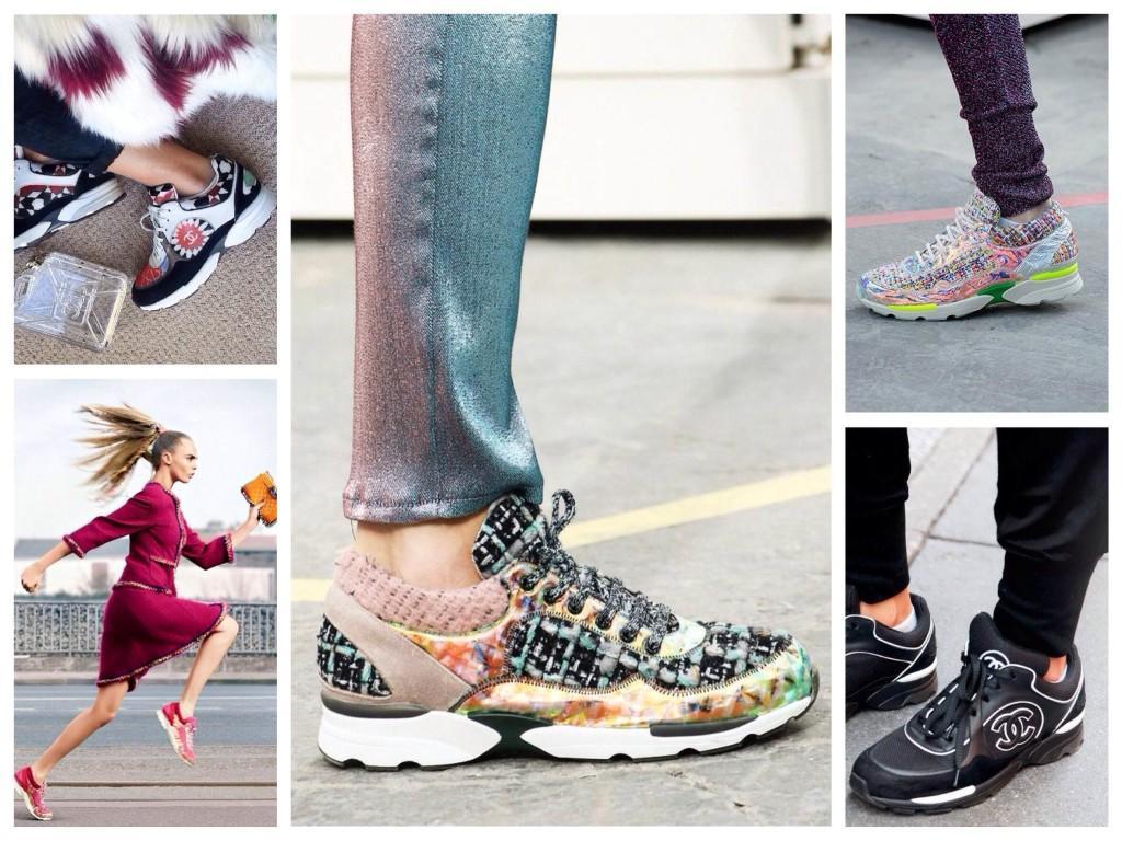 Спортивная обувь Шанель