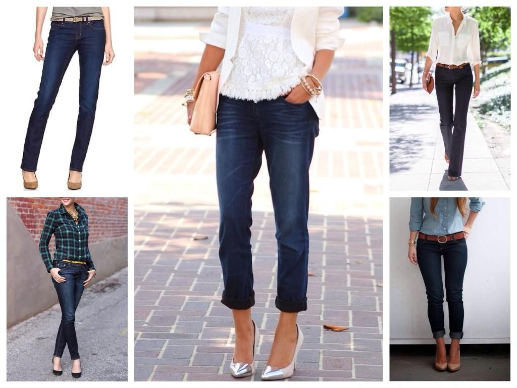 Варианты джинс для базы