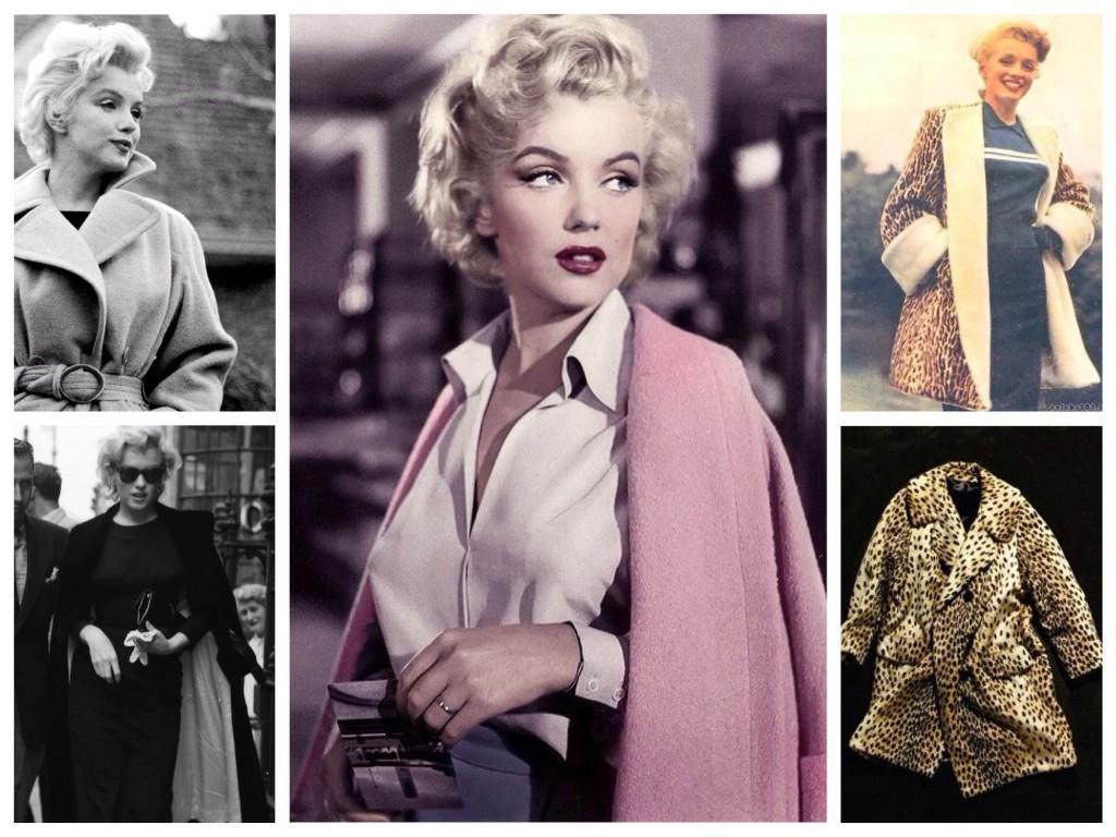 Выбор пальто актрисы
