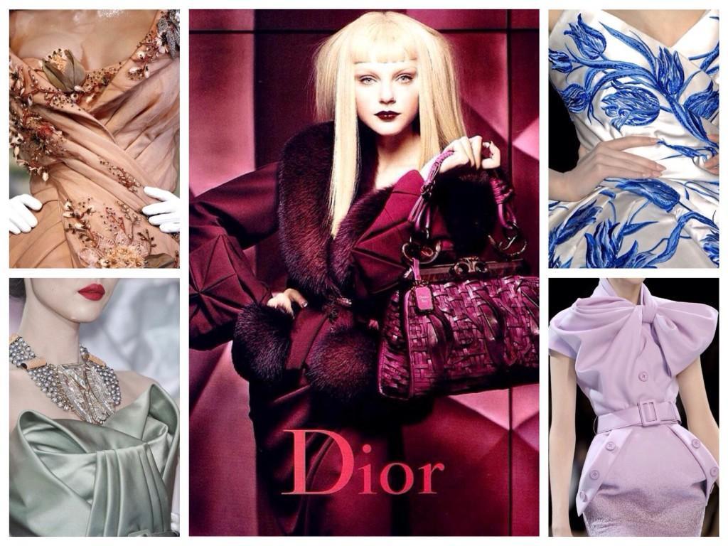 коллекции дома Диор