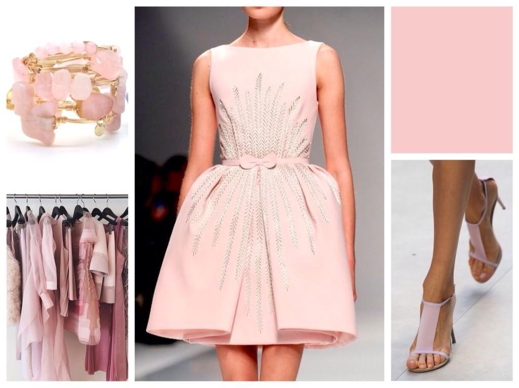розовый кварц цвет