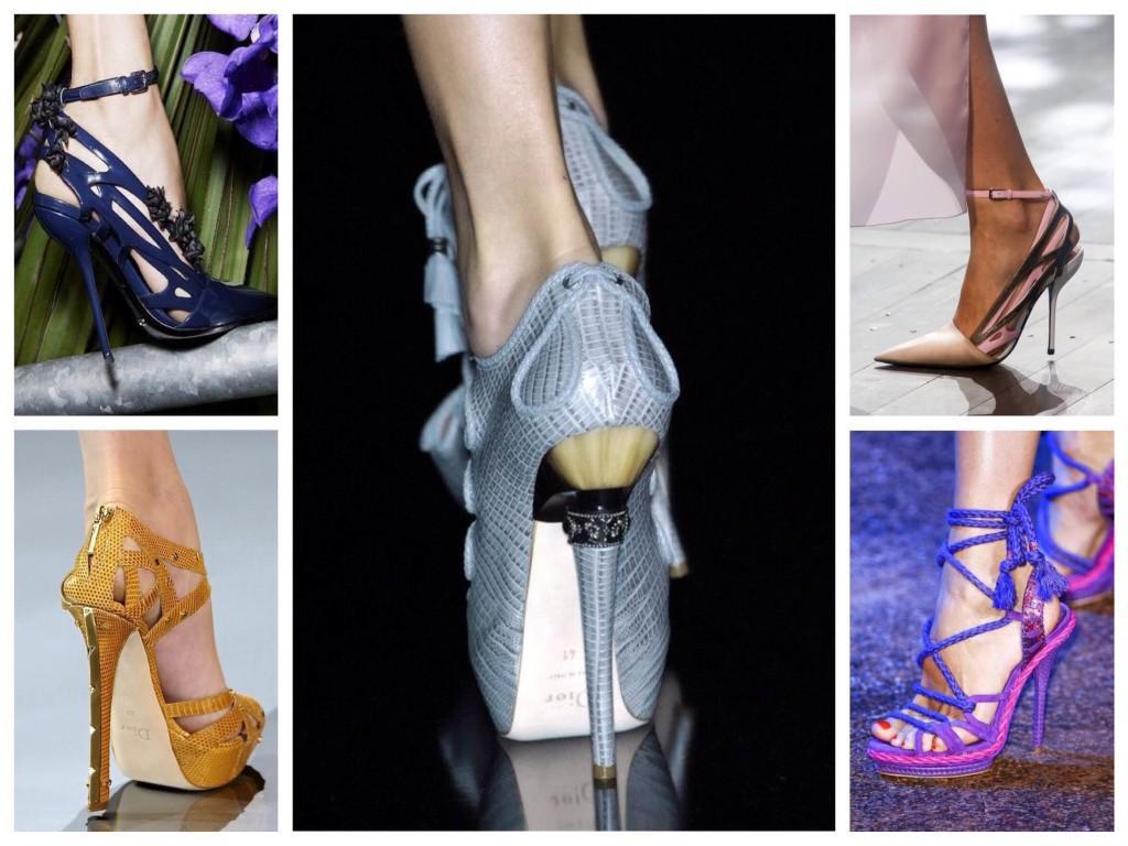 Обувь из коллекция модного дома Dior